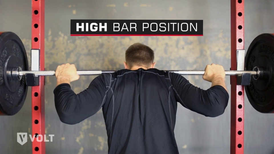 6291d561a346e7 High-Bar vs. Low-Bar Squats  Which is Better for Athletes  — Volt Blog