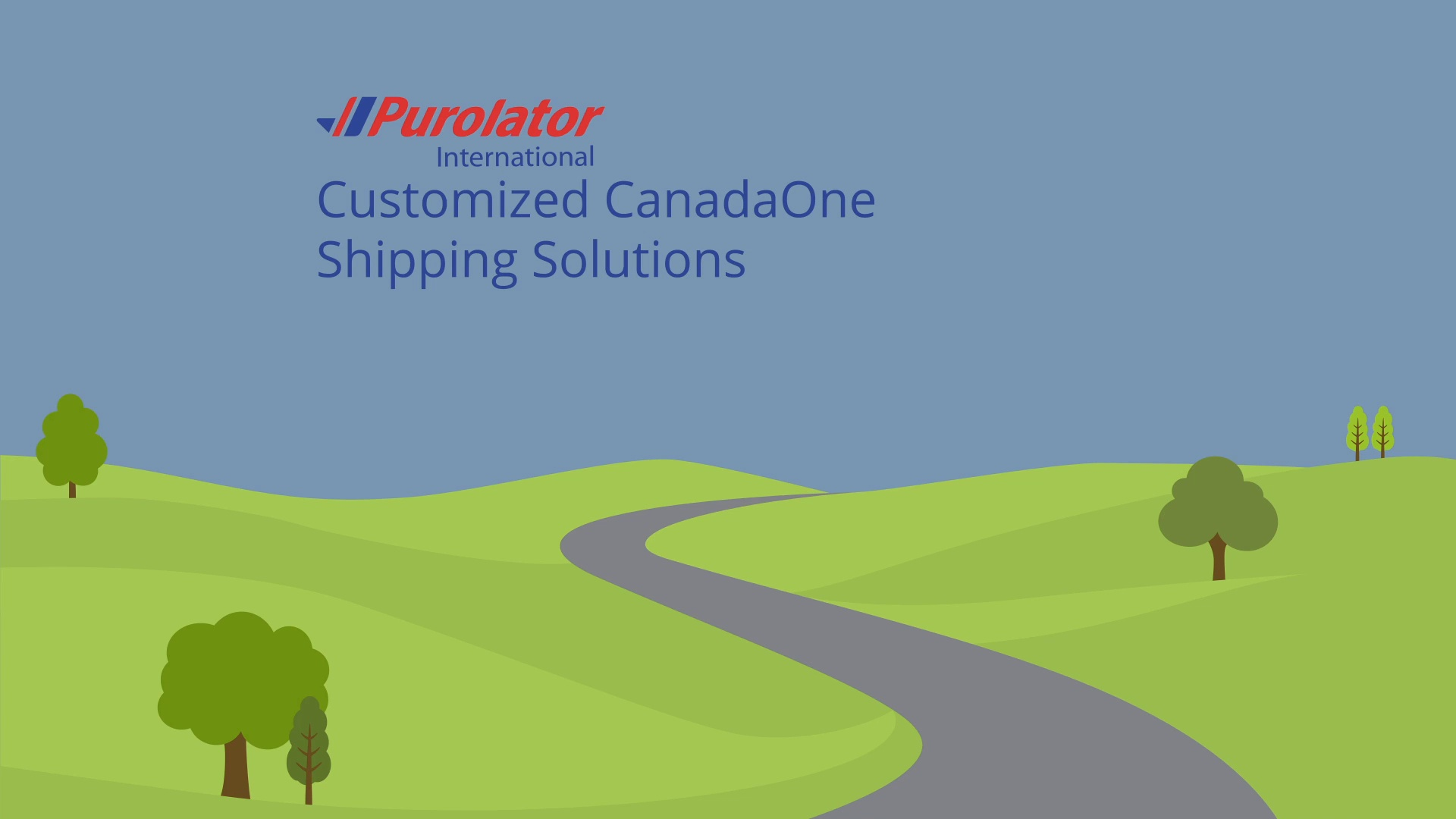 Customized CanadaOne Shipping Solutions