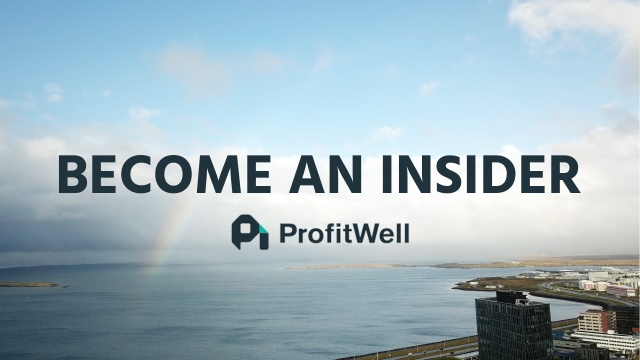 Wistia video thumbnail - A ProfitWell Announcement