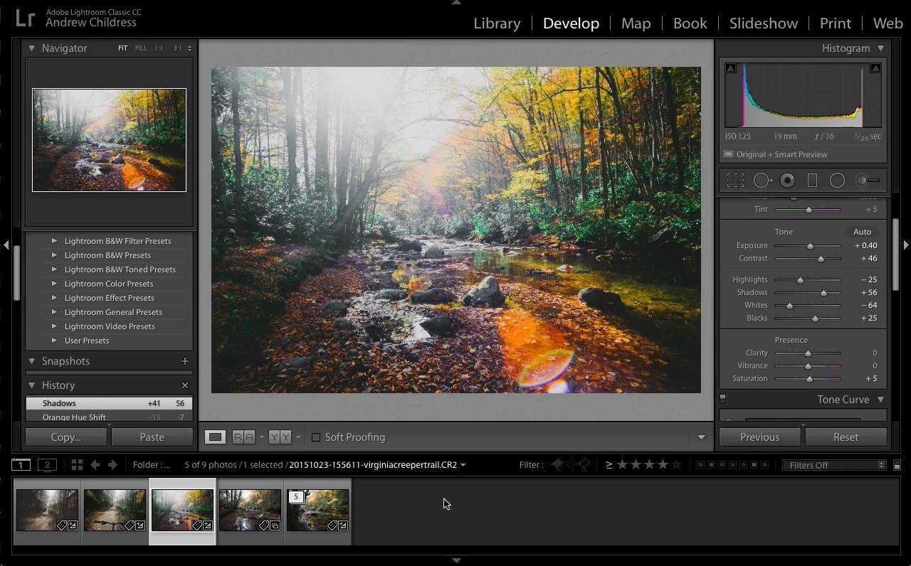 How to Create a Preset in Adobe Photoshop Lightroom in 60 Seconds