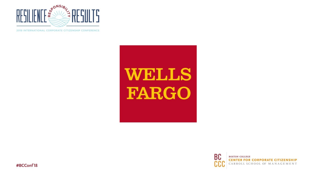 2018 Conference General Session 1 - Wells Fargo