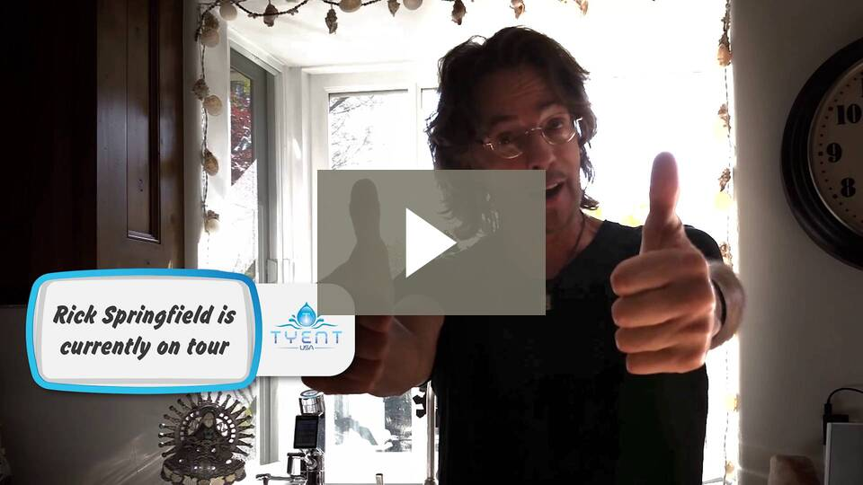 Tyent Water is a NECESSITY for this famous singer... RICK SPRINGFIELD! Find out WHY!