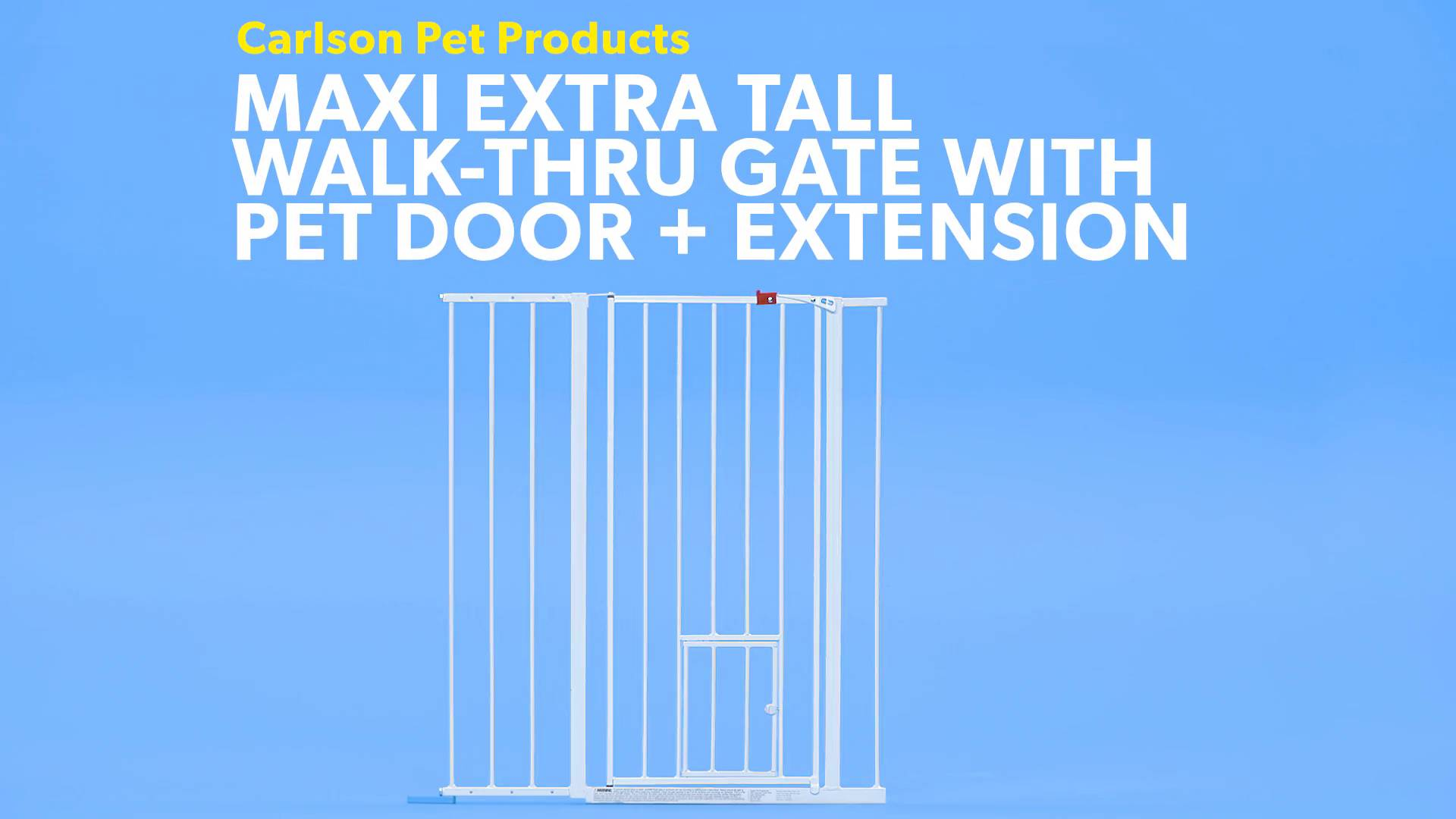 Carlson Pet Products Extension for Maxi Extra Tall WalkThru Gate