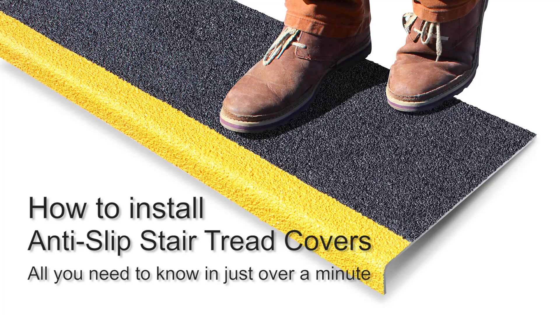Heavy Duty Anti Slip GRP Stair Treads