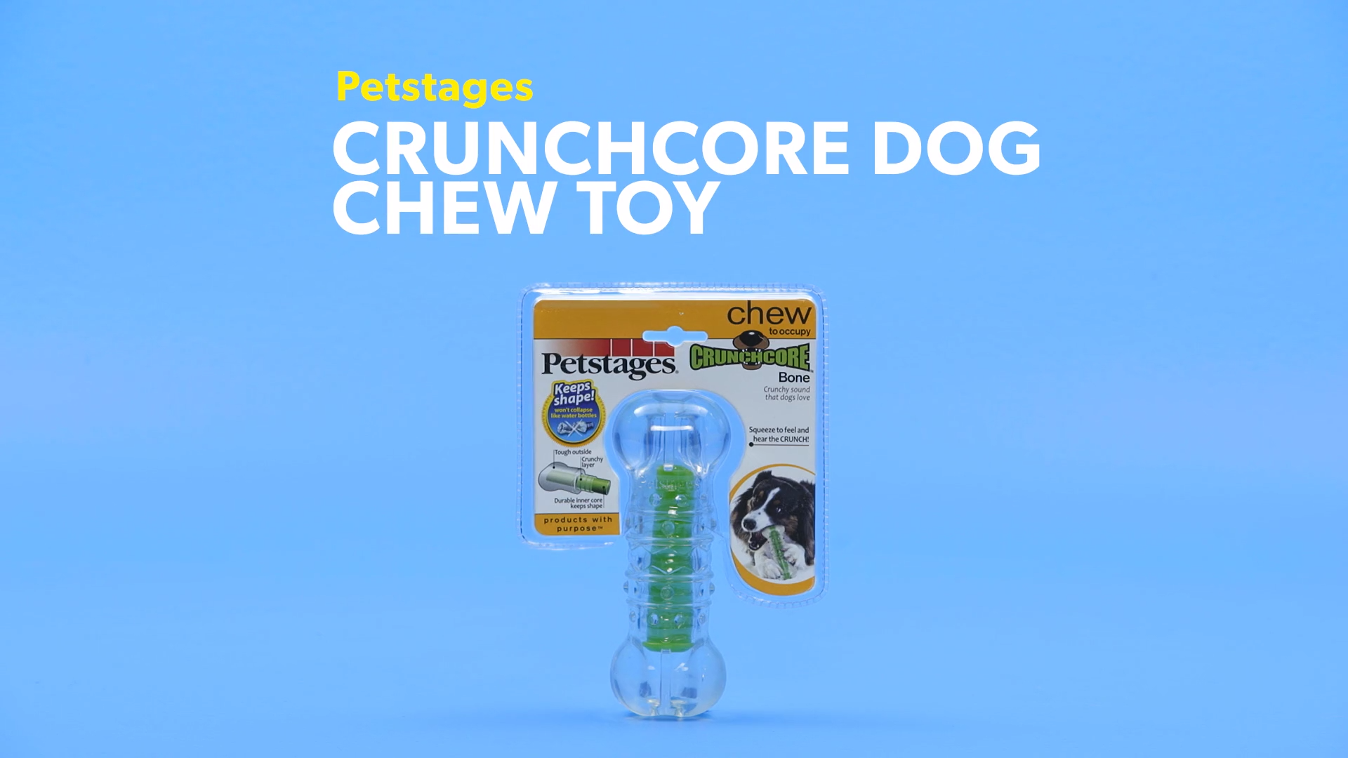 Petstages Crunchcore Dog Chew Toy, Large