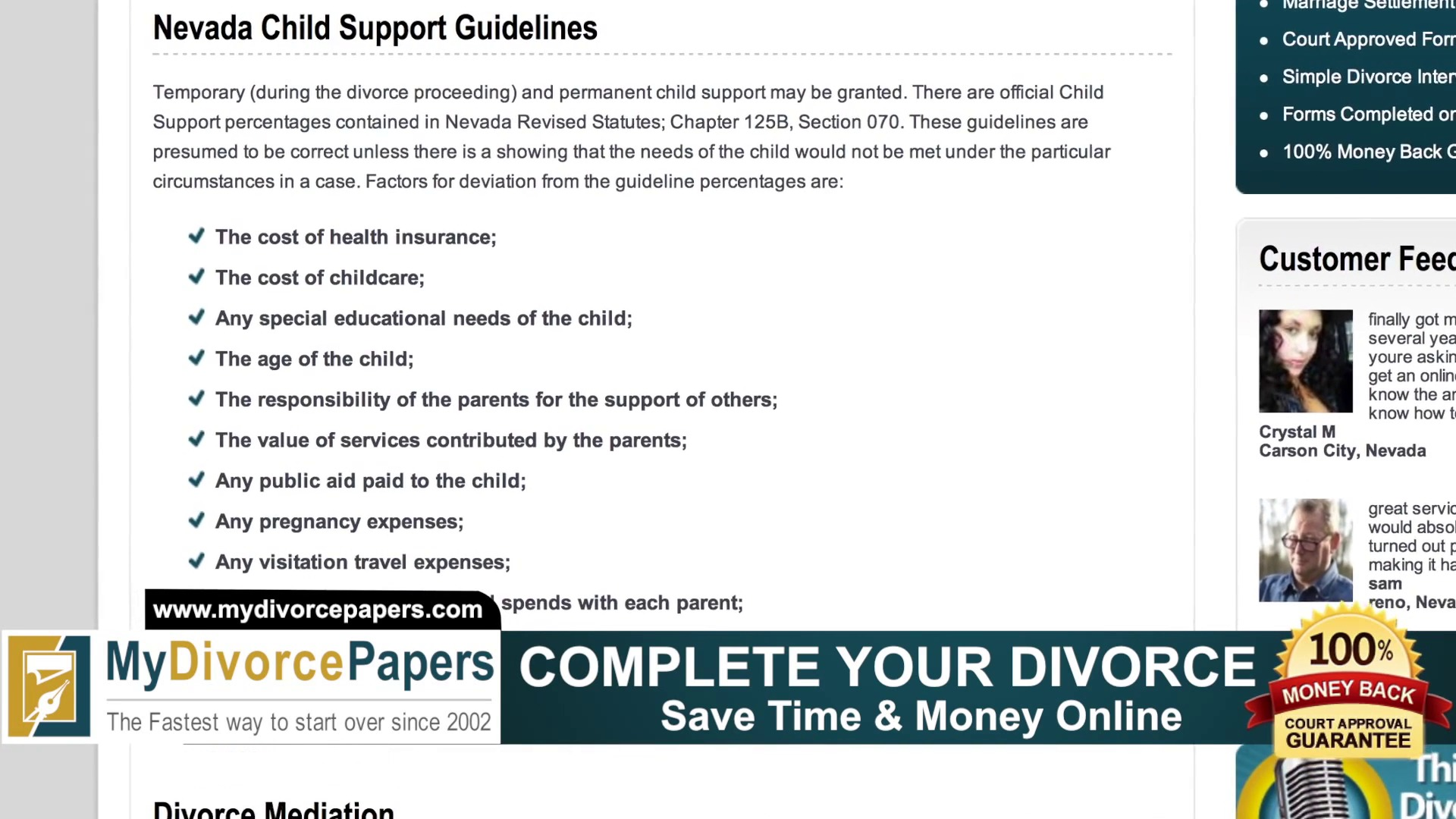 Nevada Divorce | How to File Nevada Divorce Forms