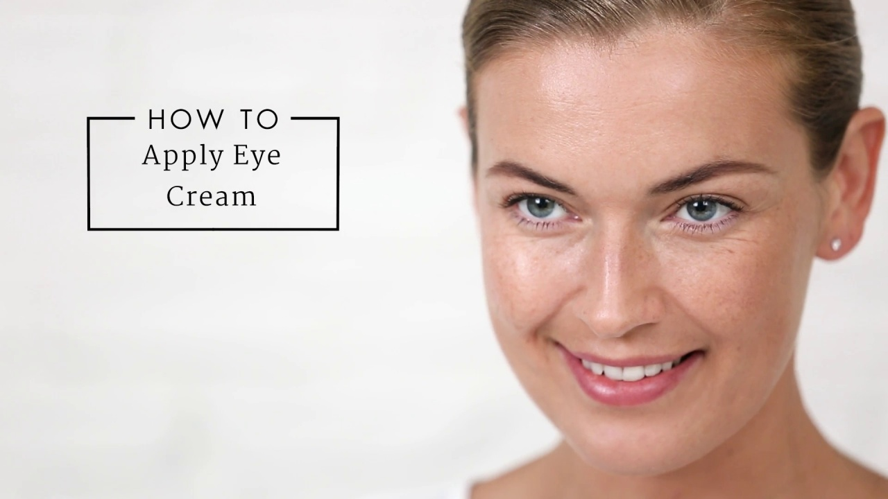 How To Apply Eye Cream Correctly Dermstore Video