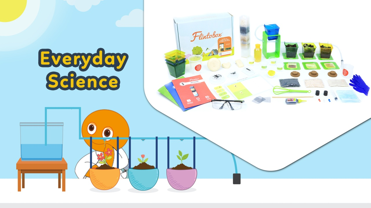 Everyday Science Activity Box For 8 12 Years Flintobox Learn About Electricity Kids Boxes Year Olds