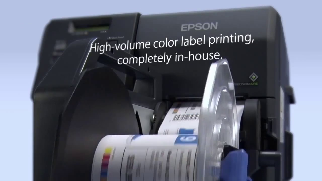 epson tm c7500ge label printer with wasatch softrip software