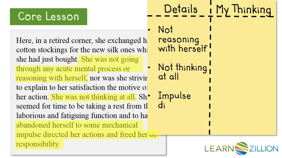 Cite Textual Evidence To Support Inferences Drawn From The Text