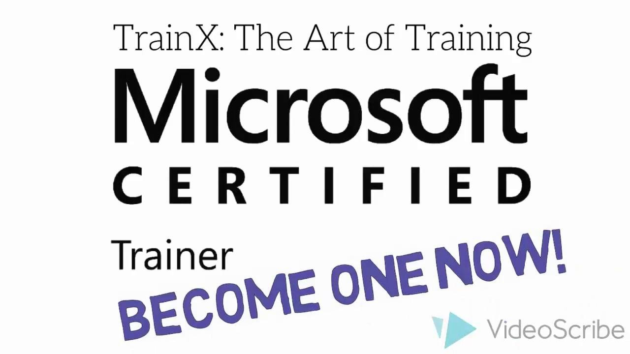 Microsoft Certified Trainer Course Mct Train The Trainer Course