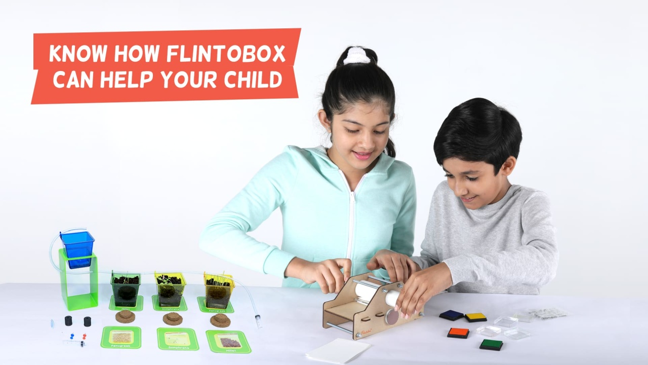 Activity Box For Toddlers Ages 8 12 Year Olds Flintobox