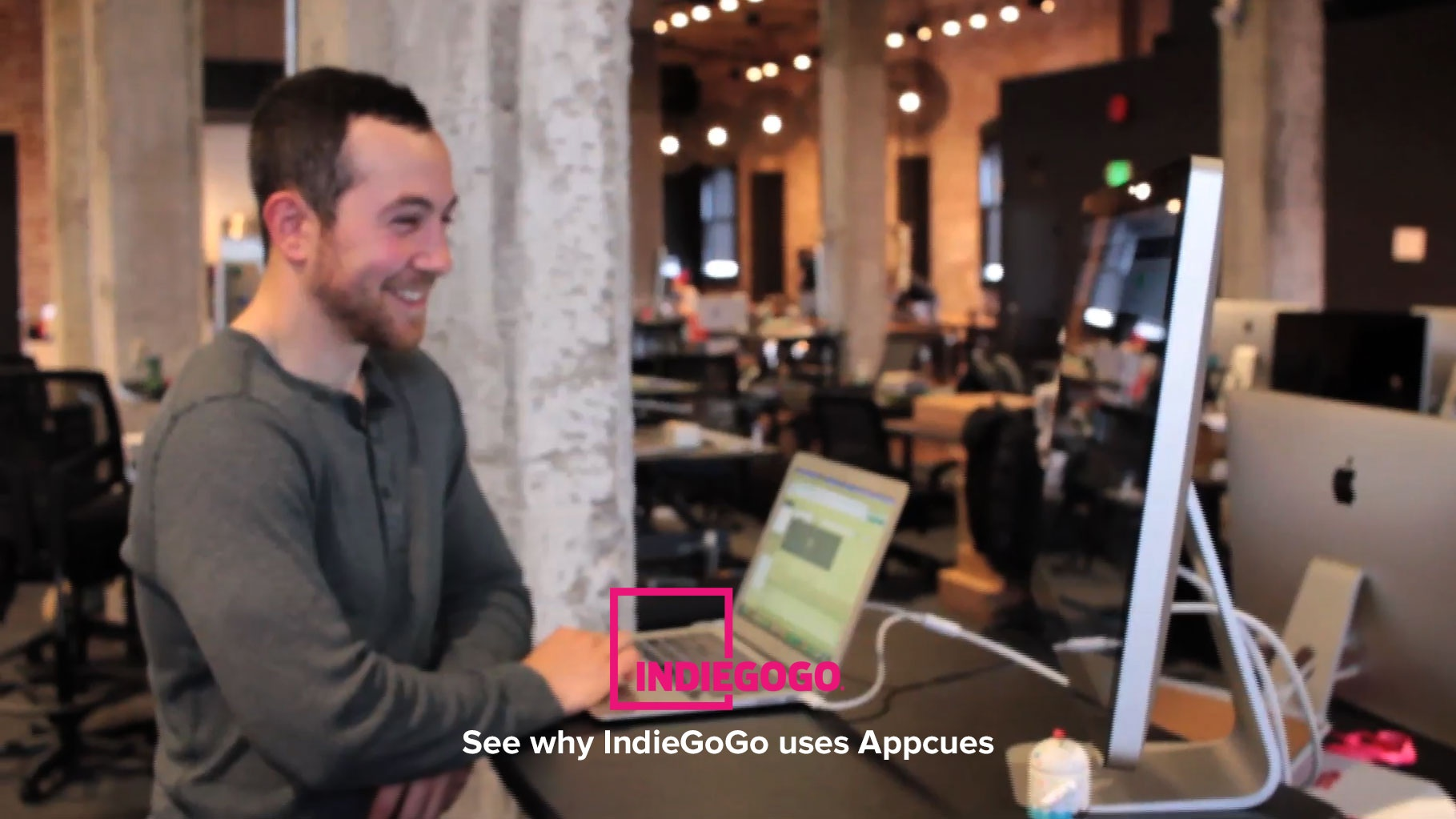 Wistia video thumbnail - How Indiegogo Uses Appcues to Communicate Product Updates Contextually