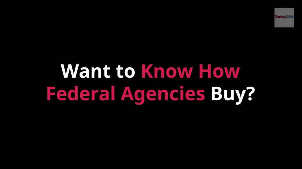 Wistia video thumbnail - How Federal Buyers Buy