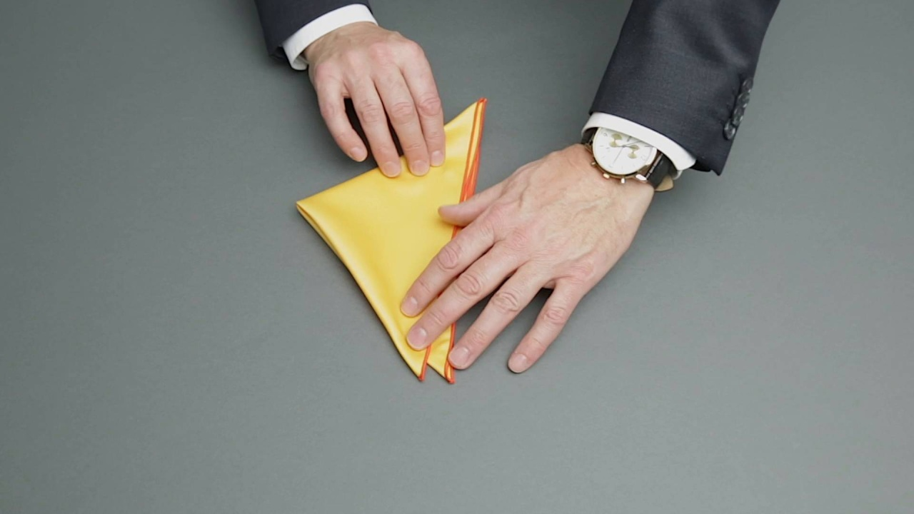 29af8770ca 10 ways to fold a pocket square