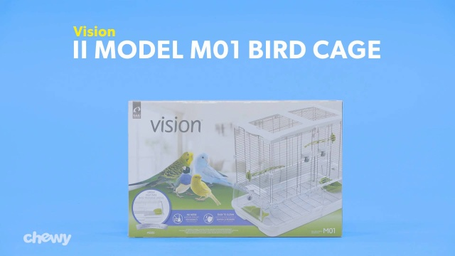 Vision II Model M01 Bird Cage, Medium