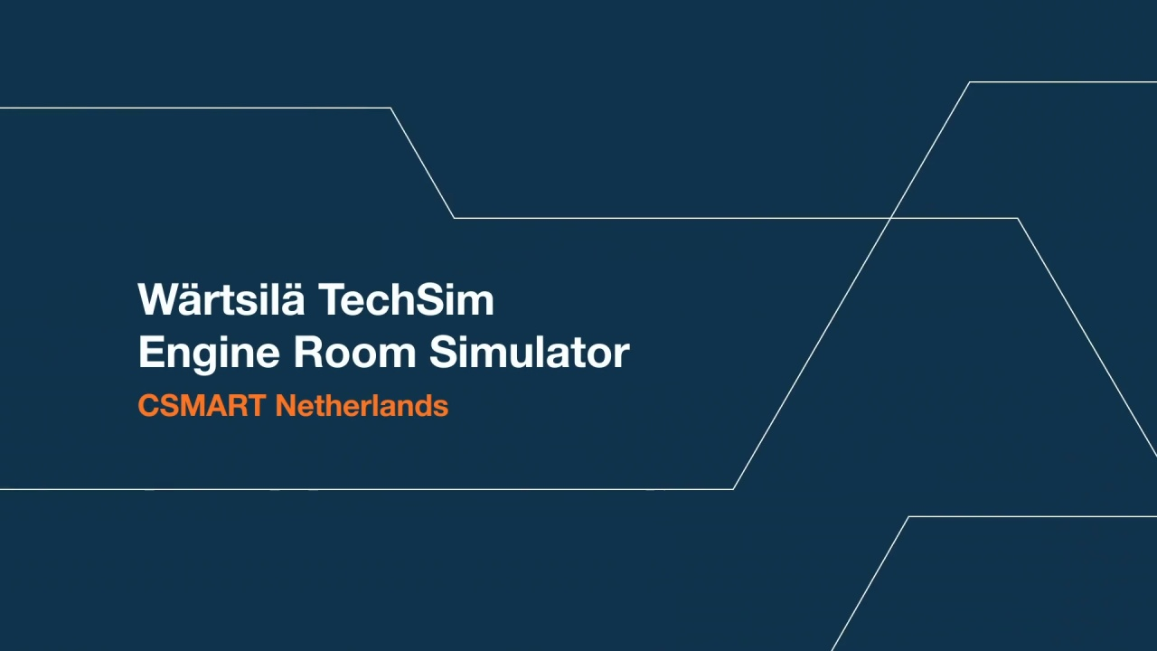 Wärtsilä ERS 5000 TechSim at CSMART Netherlands