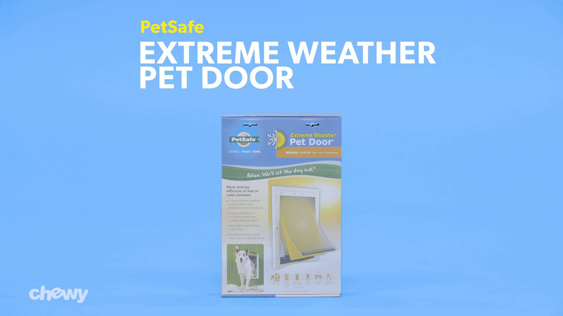 Petsafe Extreme Weather Pet Door Large Chewy