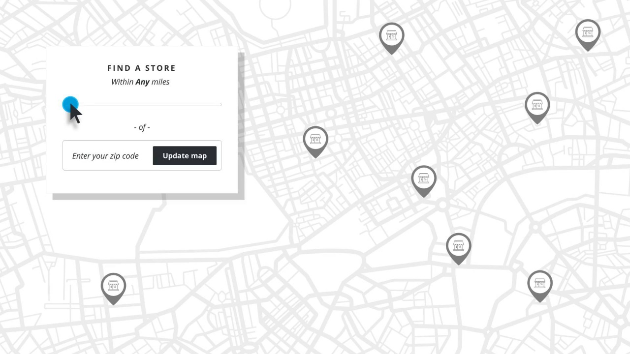 Clarity eCommerce - Store Locator