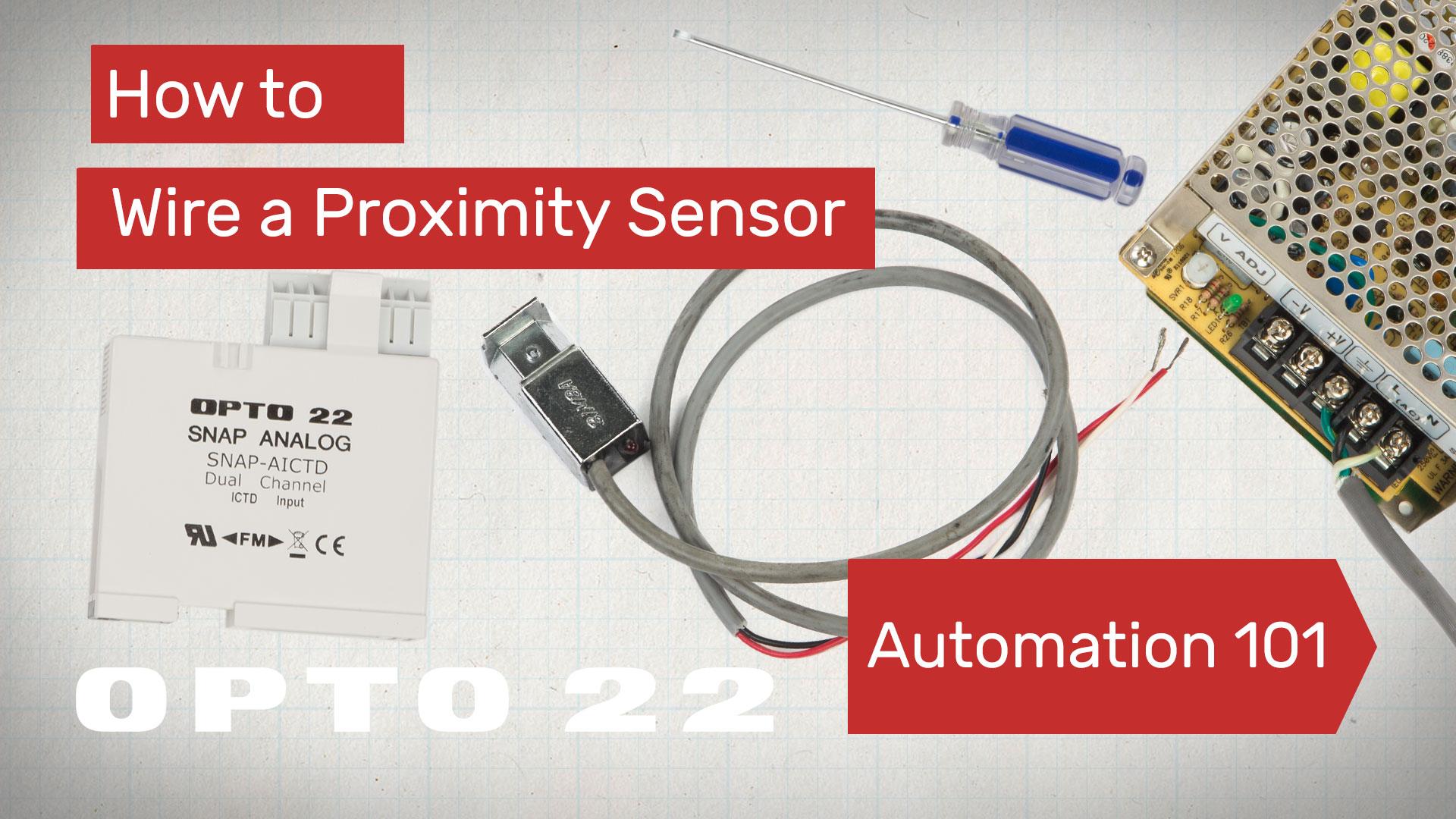 Proximity Sensor Wiring Trusted Diagram Wire A Automation 101 Video Two Switch