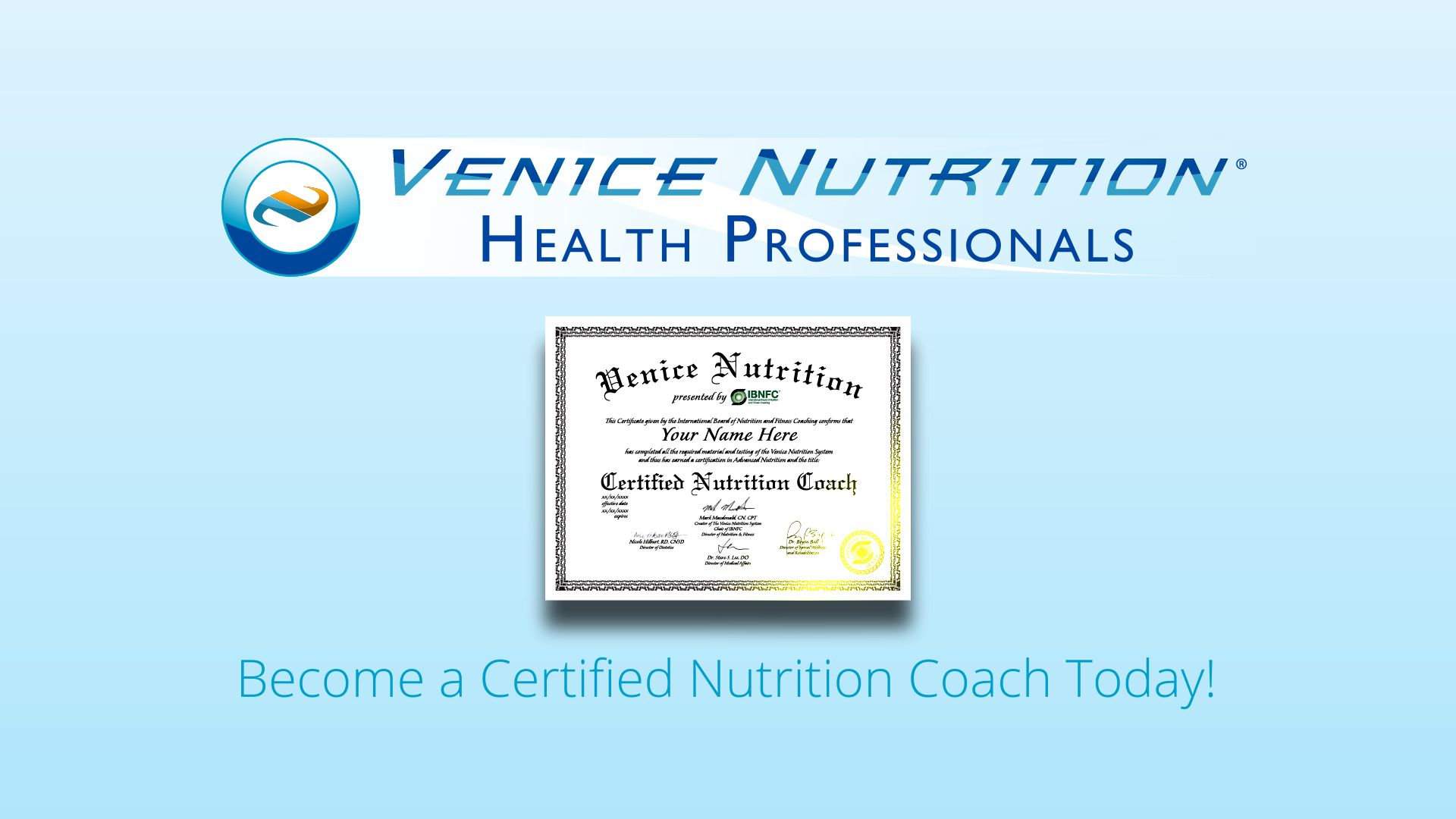 Nutrition certification information become a nutrition coach today nutrition certification information become a nutrition coach today venice nutrition 1betcityfo Images