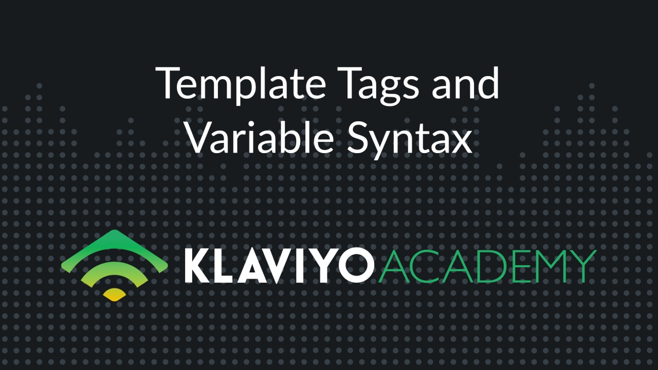 Template Tags and Variable Syntax