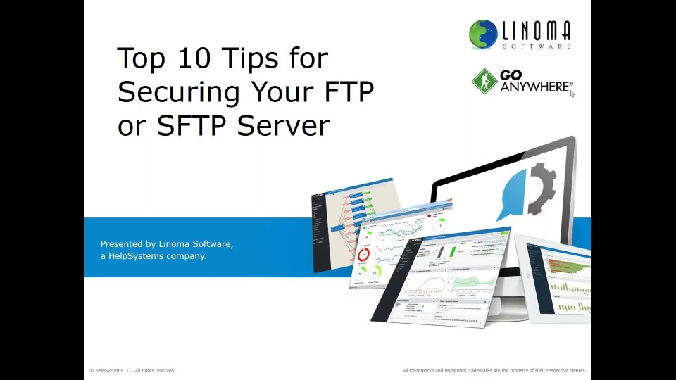 Top 10 Tips for Securing Your FTP or SFTP Server