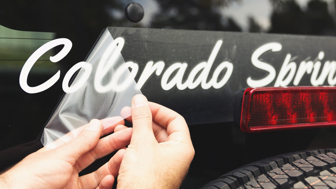 Create custom vinyl lettering with no effort
