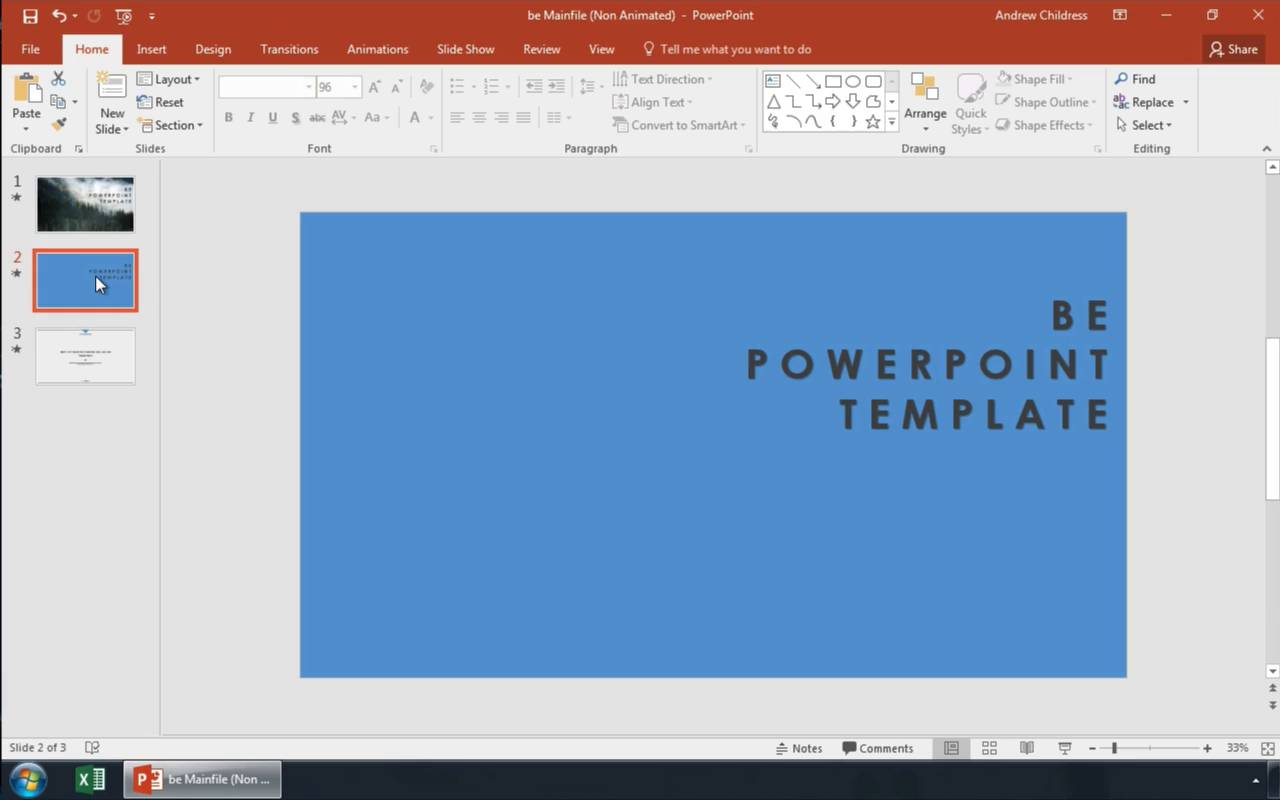 How to Add Background Graphics to Powerpoint photo
