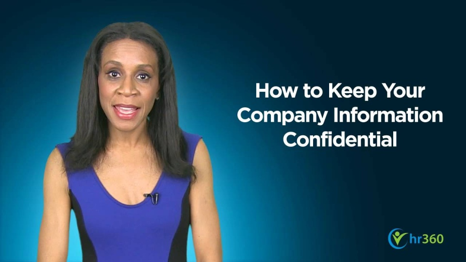 Wistia video thumbnail - How to Keep Company Information Confidential - public