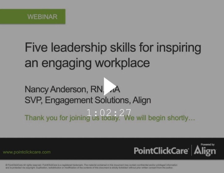 Employee Engagement Pointclickcare