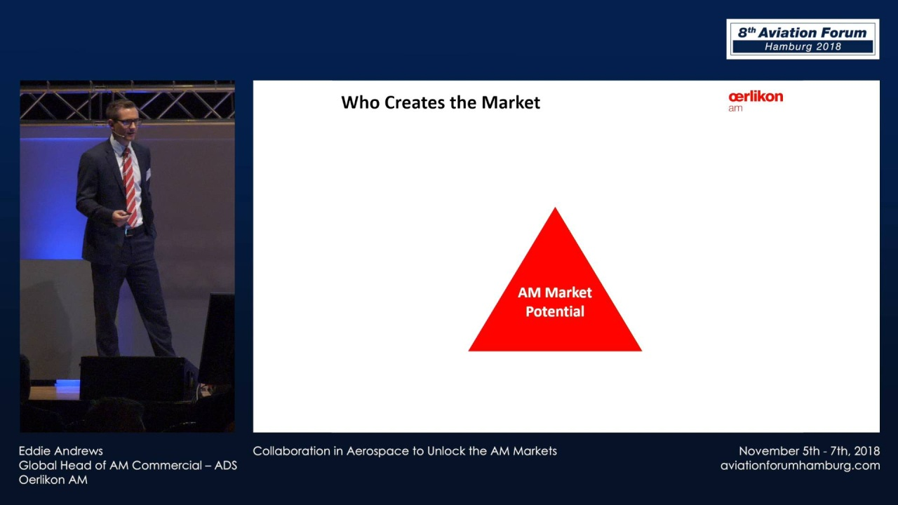 Eddie Andrews - Collaboration in Aerospace to Unlock the AM Markets