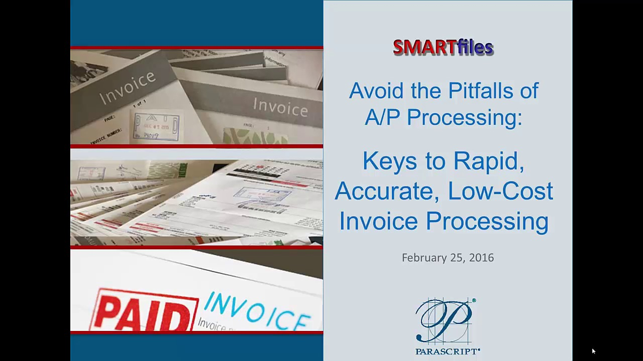 Keys To Accurate Invoice Processing Document Recognition - Cost of processing an invoice