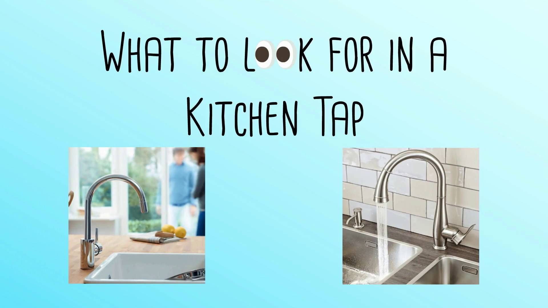 Kitchen Sink Mixer Taps | Ergonomic Designs