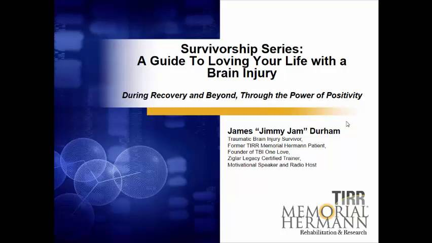 James Durham Suffered A Traumatic Brain Injury After A Motorcycle