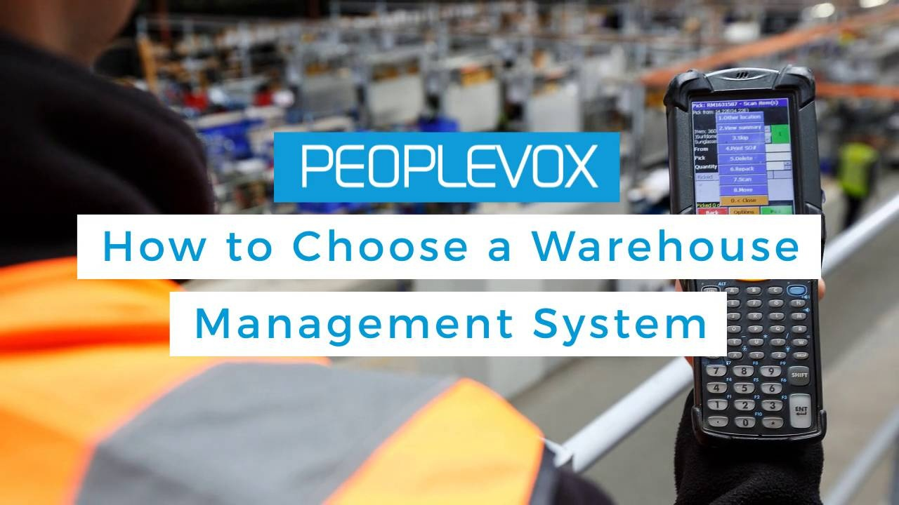Wistia video thumbnail - Warehouse Management Tips - How to choose a WMS