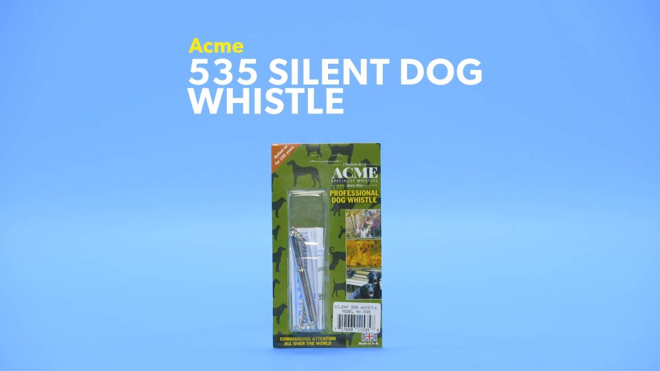 Acme 535 Silent Dog Whistle - Chewy com
