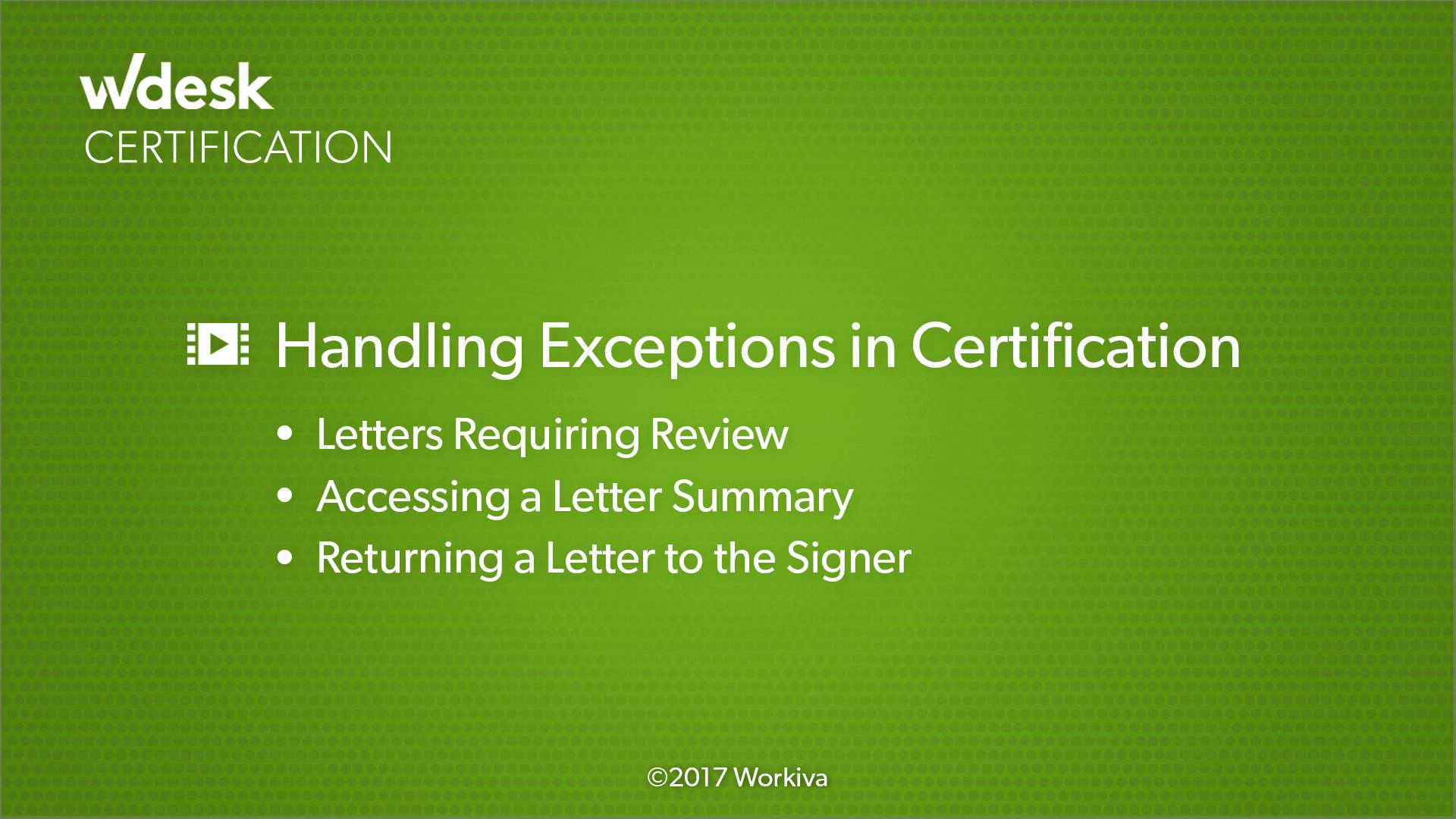 Approving Letters Through Certification Wdesk Help