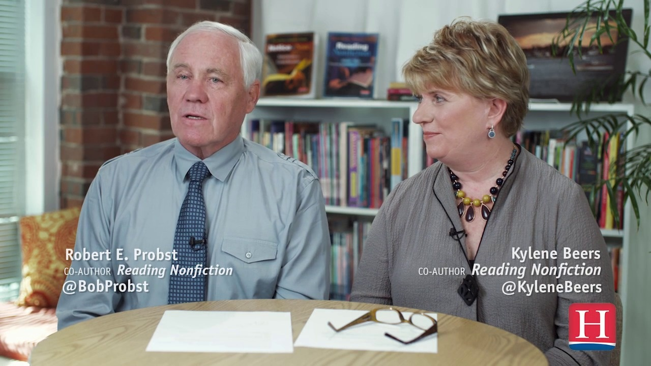 Wistia video thumbnail - Kylene and Bob on discovering the nonfiction signposts