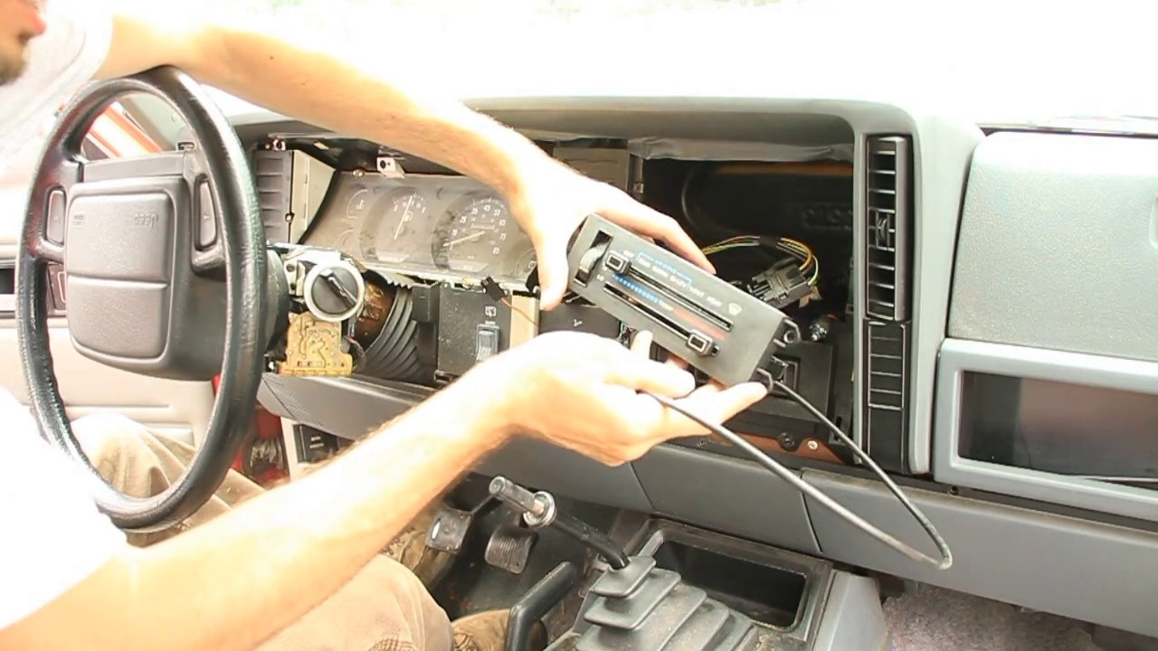 How To Remove A Jeep Cherokee Hvac Control Unit