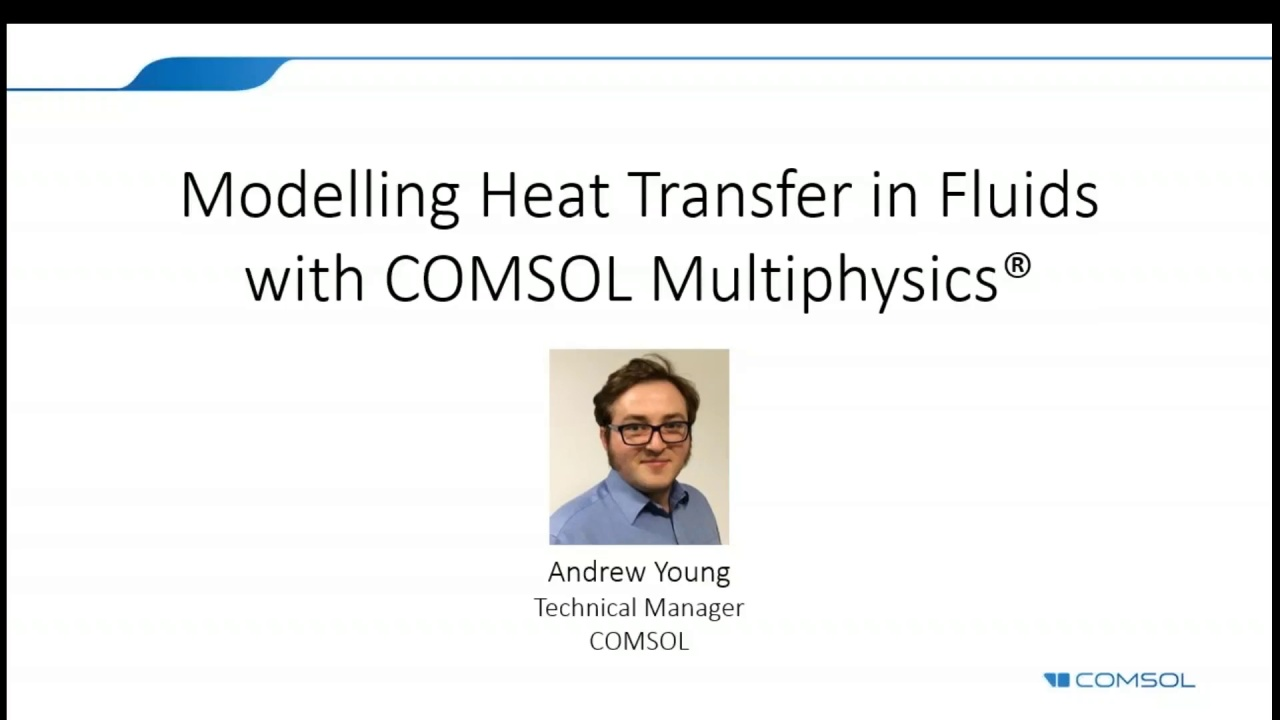 Intro to Modeling Heat Transfer with COMSOL Multiphysics®
