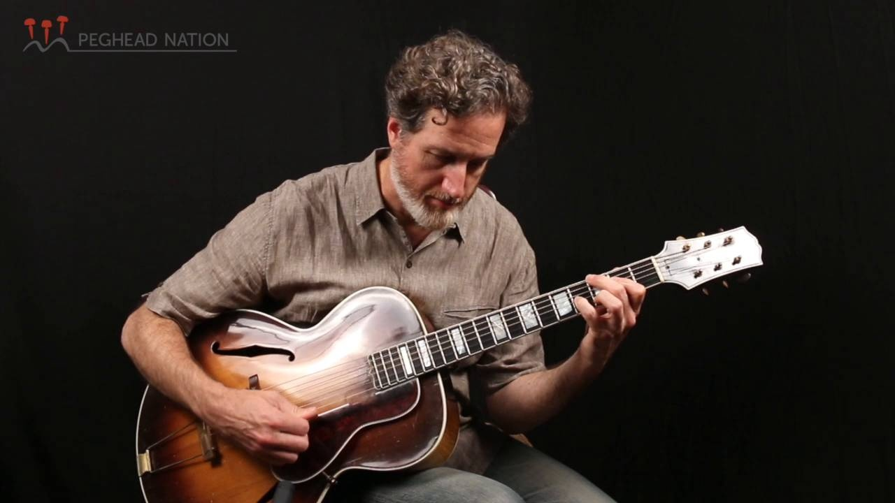 Early Jazz And Swing Guitar Lessons Technique For Swing And Early