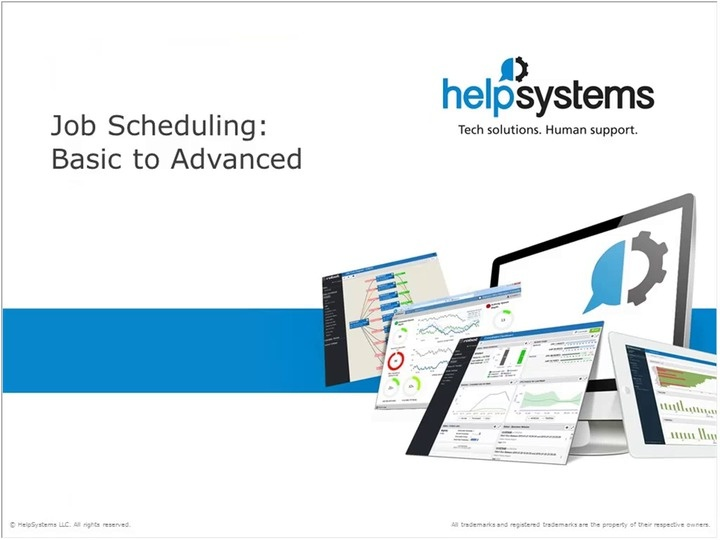 Basic to Advanced Scheduling | HelpSystems