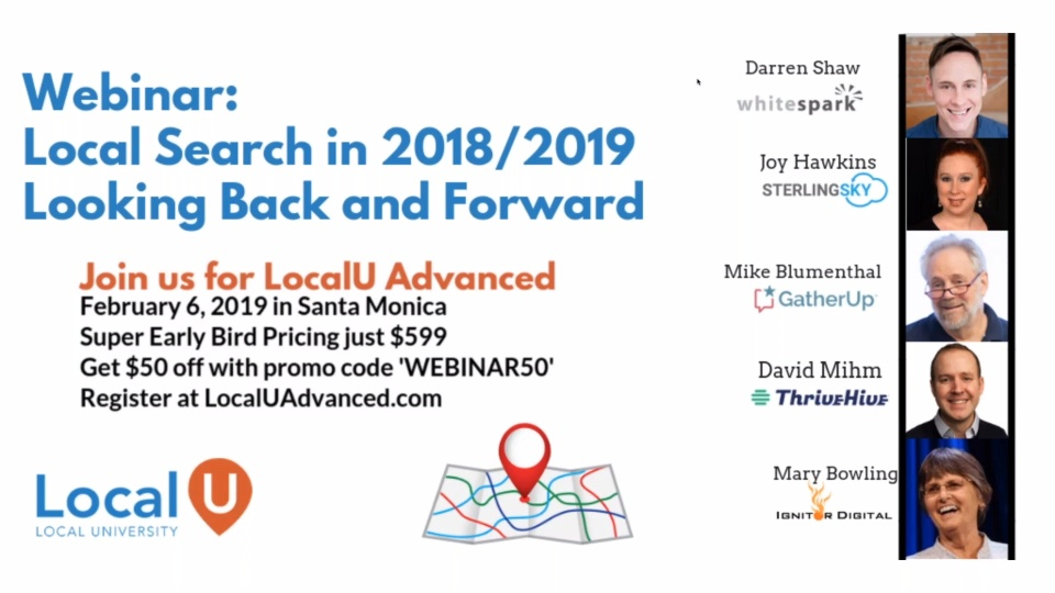 Webinar - Local Search in 2018:2019 - Looking Back and Forward