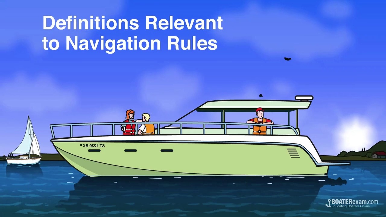 Boating Navigation: Important Definitions