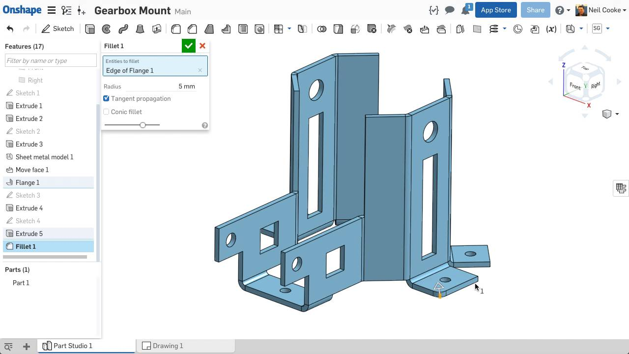 Improvements to Onshape - May 24th, 2017 — Onshape
