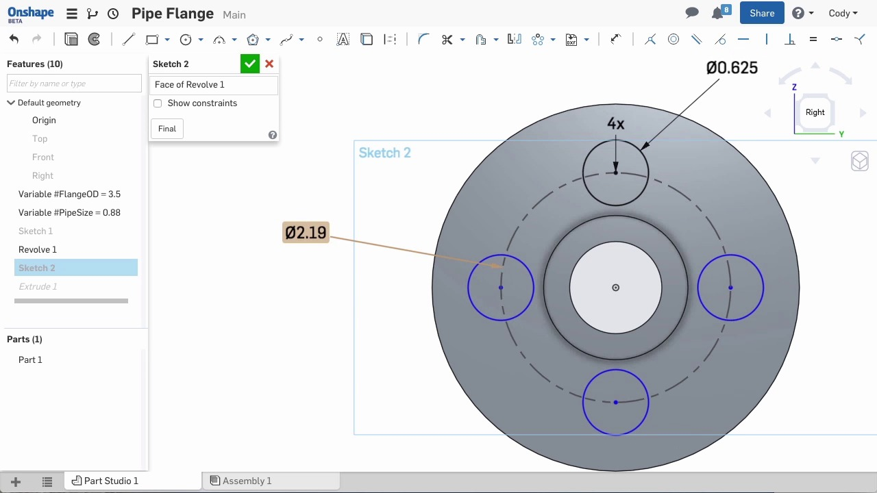 Let\'s Make a Pipe Flange | Tech Tips