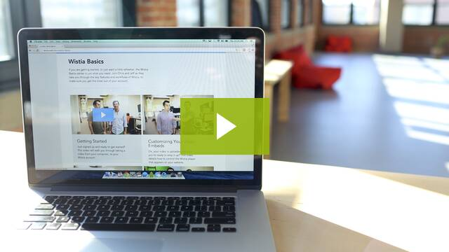 Wistia Video: Making Better Help Videos