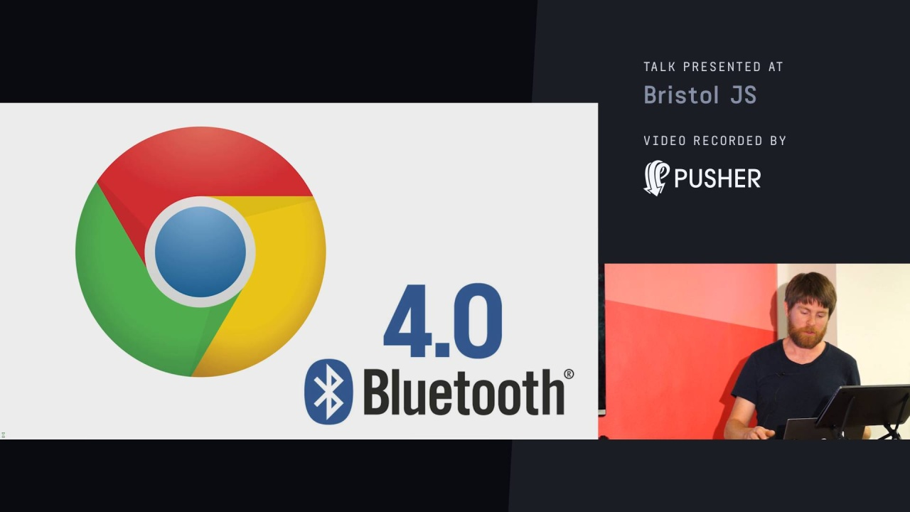 Web Bluetooth, Espruino and Puck js