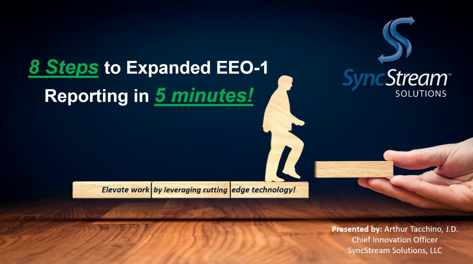 8 Steps to Expanded EEO-1 Reporting in 5 minutes